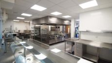 GastroNorth designed and outfitted the kitchen and server areas for Longbenton Community High School.