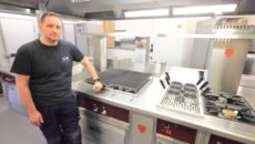 LCM has installed a Charvet Pro 900 central island suite in the kitchen.