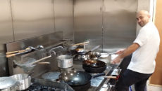 SFoH installs kitchen for Newcastle restaurant specialising in Szechuan food.
