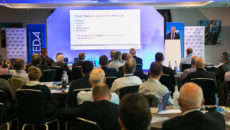 CESA director Keith Warren detailed the Brexit impact on the sector's EU regulations. Credit: DenPhotography.