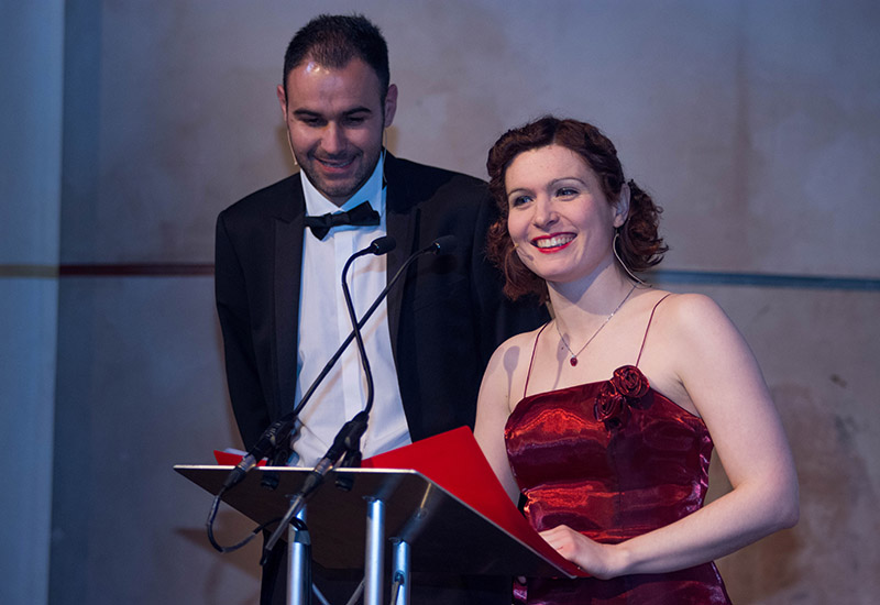 Catering Insight editor Clare Nicholls and Promedia Publishing editorial director, Andrew Seymour, presented the awards ceremony.