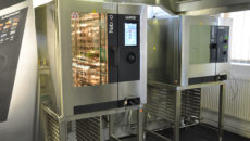 Lainox combi ovens will soon feature QR code stickers.