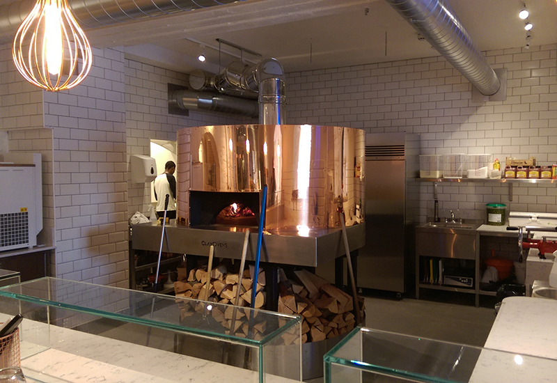 QCM helped the Sanchez Brothers realise their dream of an open plan kitchen in Pi Shop.