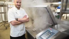 CDS-Wilman installed this Frima VCC311 for the Midland Hotel's executive head chef Brian Spark.