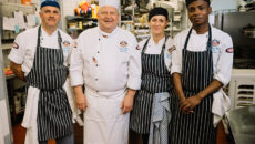 The Grocers' Hall chef team. Credit: Ian Forsyth.