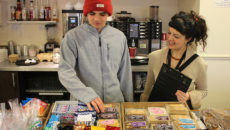 Café on the Park service user Jack is one of the young people who will benefit from the support of First Choice Group.