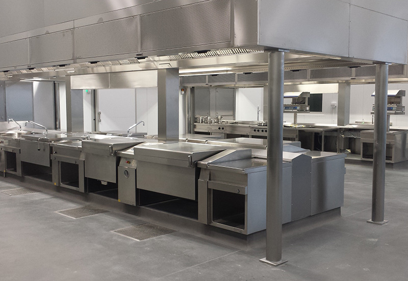 MKN FlexiChefs have been installed at Alpha LSG's Heathrow premises.