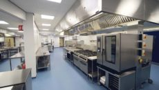 GastroNorth overcame obstacles with Darlington College's existing infrastructure to complete the kitchen outfit.