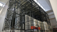 LF now has eight stacker cranes at its Italian headquarters.