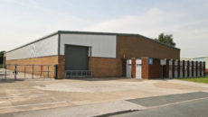 Alliance Online's new Leeds warehouse space.