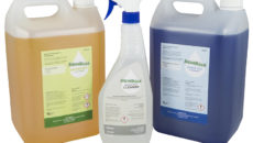 Aqua Cure's extended Aqua Dosa range of professional warewasher cleaning chemicals.