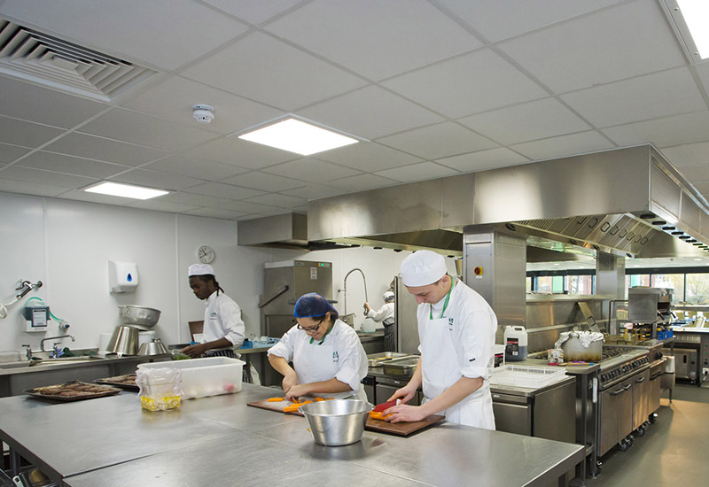 Brakes Catering Equipment's project success, such as this scheme at Barking and Dagenham College, means it is expanding its team.