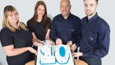 The CaterQuotes team celebrates 10 years in business.