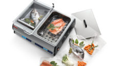 FEM provides the Sirman Easysoft vacuum packer and sous vide combination unit.