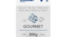 The Scotsman Ice app details which ice machine is suitable for various applications.