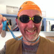 Publicity Works founder Tim Morgan is donning his swimming cap for charity.
