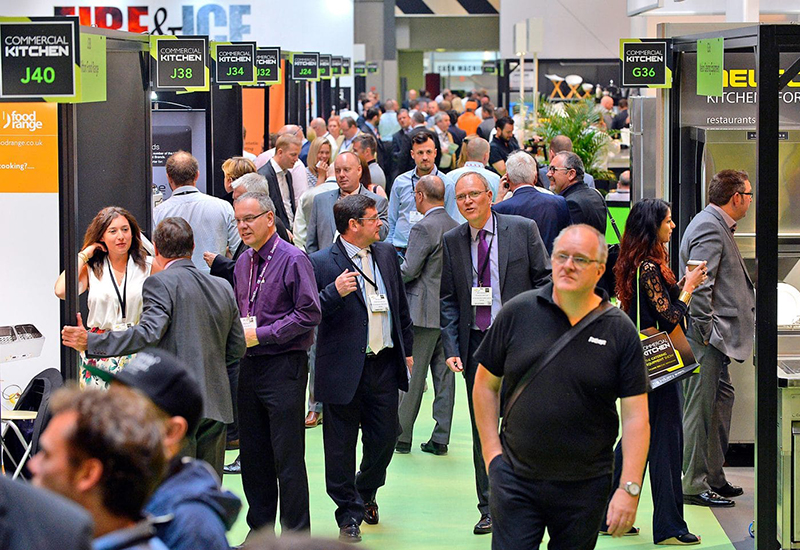 100 exhibitors will be demonstrating their wares at this year's Commercial Kitchen.