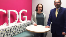 Hannah Somers and Geoff Kibblewhite have returned to the CDG team.