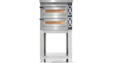 The new Cuppone Tiziano pizza oven models are suitable for small footprint kitchens.