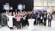 The latest of Frima's factory visits for business partners took place this month.