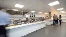 C&C outfitted the Wexham Park Hospital ground floor restaurant in 9 days.