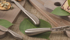 American Metalcraft Evolution Cheese Knives are available in seven styles.