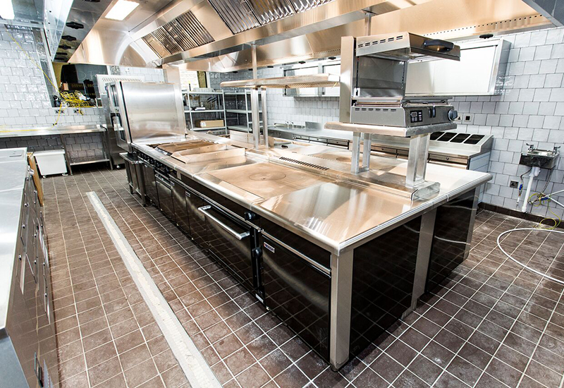 Crosbys installed the Best Western Beaumont Hotel's kitchen in what was formerly the ballroom.