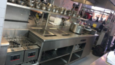 WilcoxBurchmore installed the new bespoke cooking suite for The Frog in Spitalfields, London.