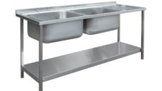 Die-Pat Divisions' new commercial sink unit assemblies are available in 16 different combinations.