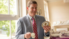 Steven Rowley is now Royal Crown Derby's sales and marketing director.