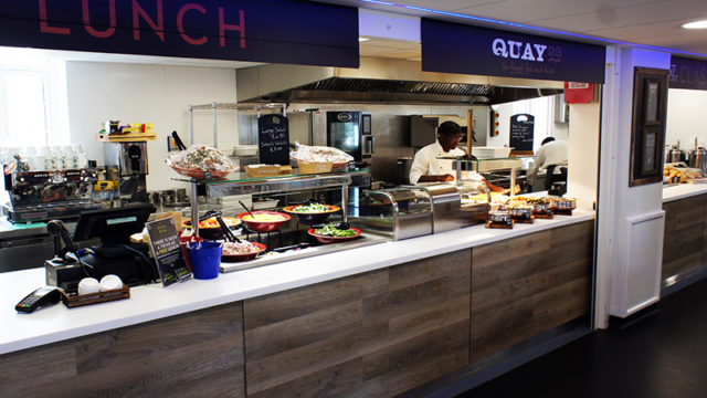 IFSE's design for Epsom and St Helier Hospital's catering areas features an open servery.