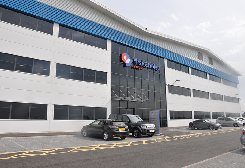 First Choice's new headquarters has enabled it to increase its stock by 30%.