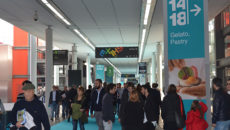 The gelato, pastry and coffee halls at Host have been shuffled around for the 2017 show.