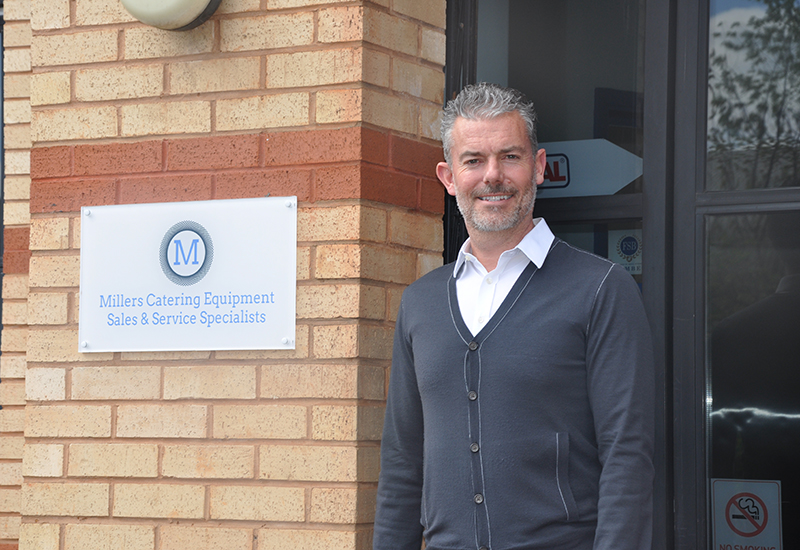 Millers MD Dean Broadbent is creating a proactive sales ethos at the firm.