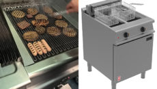 Falcon's new Dominator Plus electric chargrill and fryer.