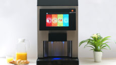 The Juicetouch can dispense between 30-100litres of juice, depending on concentrate level.