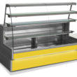 Blue Badger's own brand Sterling Pro Rivo 140 Serveover Counter is available with yellow fascia.