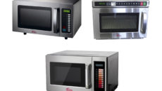 Valera's three new models of own brand microwaves.