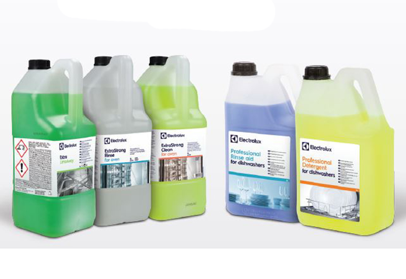 First Choice can now supply Electrolux cleaning chemicals.