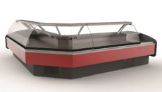 The Prodis Java meat serve over counter is available in five lengths.