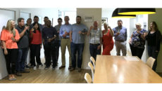 The Tricon team celebrates the Investors in People accreditation.