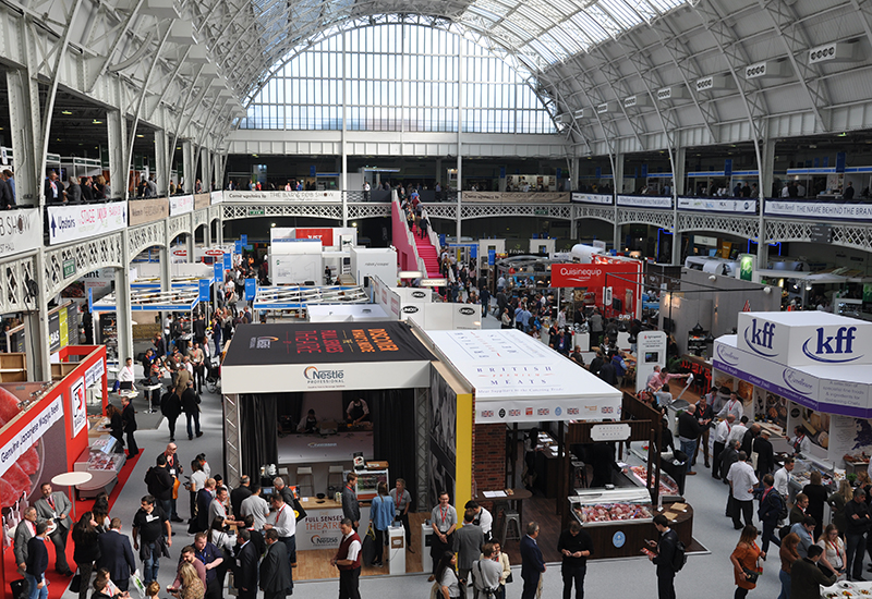 The Restaurant Show returns to Olympia on 2-4 October.