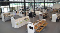 The new National Catering Equipment Centre showcases products from over 50 brands.