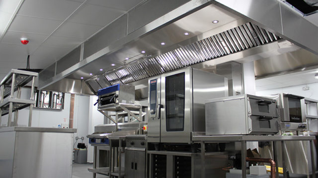 Mansfield Pollard worked with Bettaquip on the Formby Hall production kitchen.
