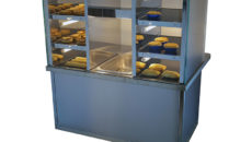 Aaroc Solutions worked with Moffat to specify this Squared Display Servery.