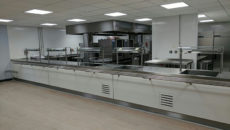 One of Garners' recent projects at Hampton Gardens secondary school, Peterborough.