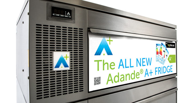 The Adande A+ Fridge has topped the EU's official Top Ten rating.