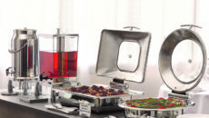 American Metalcraft's Evolution line of buffetware.