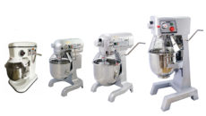 The new Blizzard planetary mixer range comes in 7L, 10L, 20L and 30L bowl capacities.