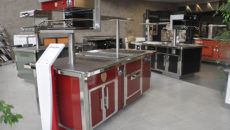 Charvet's factory showroom in  Charavines, France.